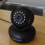 留守中のワンコが心配なので、WEBカメラを設置